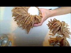 Muñeca soft - Parte 08/09 - Poner pelo a un muñeco con lana - YouTube