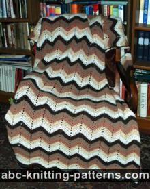 Free Ripple Afghan Crochet Pattern