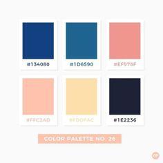 Color Palette No. Pantone Colour Palettes, Pastel Colour Palette, Colour Pallette, Color Palate, Pantone Color, Color Patterns, Color Schemes, Color Harmony, Aesthetic Colors