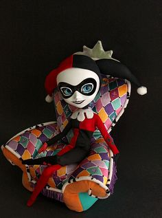 A cute Harley Quinn by RequiemArt.com, via Flickr