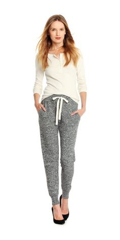af85e1ec94d Melange Jogger Pant from Joe Fresh. Meet the comfy and casual pant you'll