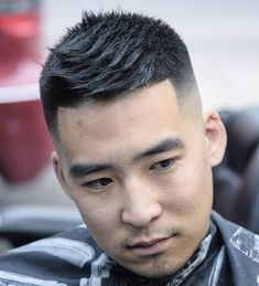 Skin Fade Asian Haircuts - Best Asian Hairstyles For Men: Best Asian Men's Haircuts Asian Men Short Hairstyle, Asian Man Haircut, Mens Hairstyles Fade, Cool Mens Haircuts, Long Face Hairstyles, Cool Hairstyles For Men, Asian Hairstyles, Men's Haircuts, Hairstyle Ideas