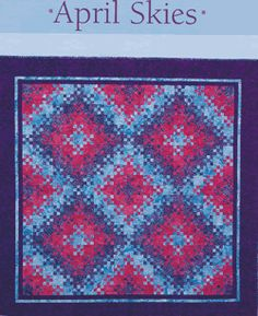 Blooming nine patch variation, Helen Frost & Catherine Skow
