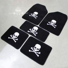 Auto supplies mastermind mmj general mat skull carpet mat plush car cushion-inInterior Accessories from Automobiles  Motorcycles on Aliexpress.com $23.34/