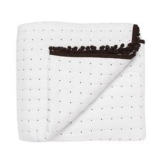 Betty Jackson.Black Designer white spotted throw- at Debenhams.com