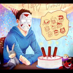 Fanart    Happy Birthday H2ODelirious!!! by FloatingMegane-san