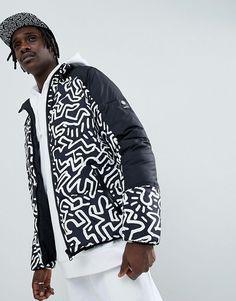 2b52dbdc6faa Element x Keith Haring reversible puffer jacket in black