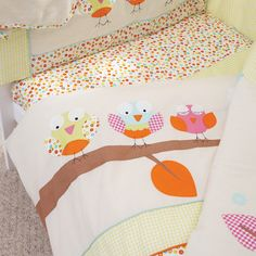 Kids Sleepy Owl Collection Cot Bed Duvet Cover | Dunelm Mill