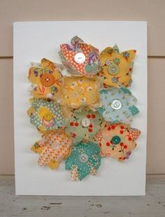 decorate with fabric from Makin Projects.
