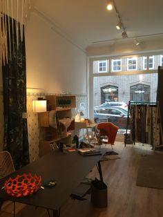 Blick in den neuen Showroom. Die neue Adresse lautet Niedernstrasse 120 in 20095 Hamburg.