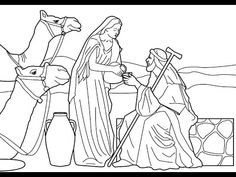 Not Sure Why This Is In A Zacchaeus Coloring Page Gallery But I Like It Anyway One Of My Favorite Bible Stories