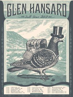 Image of Glen Hansard Tour poster