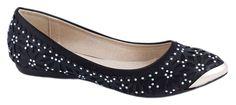 Balerini - Balerini negri de dama 106-1N - Zibra Wedges, Flats, Shoes, Fashion, Loafers & Slip Ons, Moda, Zapatos, Shoes Outlet, Fashion Styles