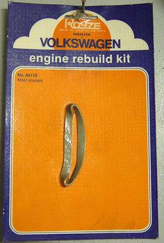 VW engine rebuild kit. Funny. If only it were that simple.