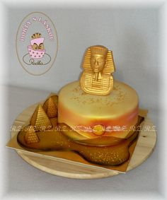 Dorty pro ženy - Egypt Cupcake Cookies, Cupcakes, Food Artists, Theme Cakes, Occasion, Butter Dish, Cake Art, Ancient Egypt, Lovers Art