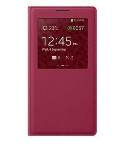 S View Flip Case Cover Θήκη Κόκκινο OEM (Galaxy Note 3) - myThiki.gr - Θήκες Κινητών-Αξεσουάρ για Smartphones και Tablets - Χρώμα κόκκινο