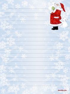 Stationary Printable Free, Printable Lined Paper, Christmas Letterhead, Christmas Stationery, Lined Writing Paper, Envelope Art, Christmas Icons, Stationery Paper, Advent