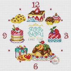 Gallery.ru / Фото #1 - Cake Time Clock - denise10