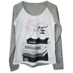 Camiseta Bicolor Vogue