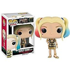 Amazon.com: Funko POP! Suicide Squad Harley Quinn Gown Exclusive Heroes #108: Toys & Games