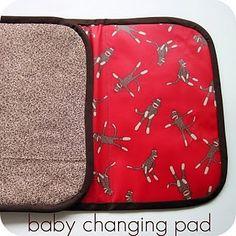 DIY changing pad