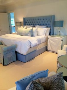 Palm Beach Bedroom | MRM Design, 2014