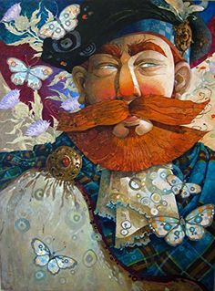 "David Galchutt ""mischief afoot"" Original Fine Art Oil Painting 12"" x 16"""