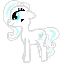 Frostfur as a pony: Frosty Hooves