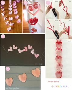 348747564866525295 DIY Heart Garlands