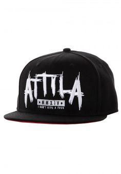 Attila - Logo Black/Red