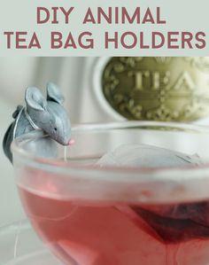 How to make polymer tea bag holders