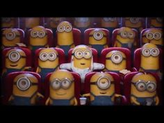Minions - New Mini Clips 2016 Minions Mini Movie, Minion Meme, Minions Love, Minion Party, My Minion, Minion Videos, Minions 2014, Minions Trailer, Despicable Me 3