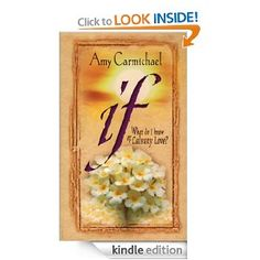 If by Amy Carmichael -- my third or fourth time to read this book and I glean so much from it each time.