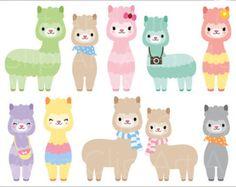Lindo conjunto de imágenes prediseñadas Animal: por PaperLovingShop