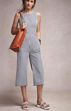 725e2e187e7 Joa Sailor Stripe Jumpsuit - from anthropologie
