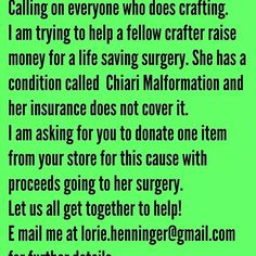 "@llcoolh629's photo: ""Please #help #lifesavingsurgery #chiaramalfotmation #donate #oneitem  Contact me here, my store #ILoveBeads247 #Facebook or at #lorie.henninger@gmail.com"" data-preview-type=""user"" data-username=""gmail.com"">#lorie.henninger@gmail.com"">@gmail.com"">#lorie.henninger@gmail.com"""
