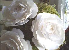 OMG My DIY Wedding: Paper Flower Topiary Project Begins