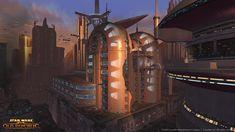 Star Wars: The Old Republic Coruscant Screenshots, Concept Art