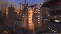 Star Wars: The Old Republic Coruscant Screenshots, Concept Art