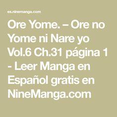 Ore Yome. – Ore no Yome ni Nare yo Vol.6 Ch.31 página 1 - Leer Manga en Español gratis en NineManga.com