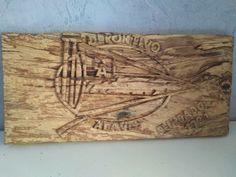 #escudo #DeportivoAlavés #fútbol #TallaMadera #woodcarving  #shield