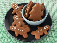Gingerbread Cookies-The orange zest and lemon just does something to these cookies! A new Christmas favorite.