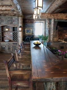 Rustic Kitchen Ideas - Surf pictures of rustic kitchen styles. Discover motivation for your mountain design kitchen remodel or upgrade with ideas for storage, organization, layout and .