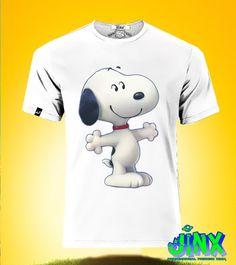 $179.00 Playera o Camiseta Snoopy Estreno - Comprar en Jinx