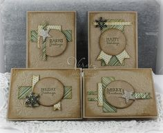 Set of cards includes OSW 6 x 6 template