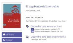 """http://clubleyenda.blogspot.com.es/ Próximo libro del Club de Lectura """"El vagabundo de las estrellas"""" de Jack London (versión electrónica) #bibliotecaugr #ClubdeLectura #Leyend@"""