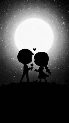 Love Couple Wallpaper, Cute Girl Wallpaper, Scenery Wallpaper, Galaxy Wallpaper, Wallpaper Backgrounds, Cute Cartoon Boy, Cute Couple Cartoon, Cute Couple Art, Love Wallpapers Romantic
