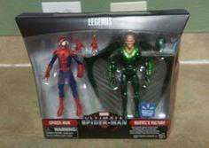 marvel legends 6 inch action figures set. Spider-man & marvels vulture  bonus