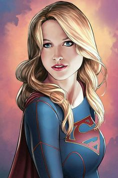 "league-of-extraordinarycomics: ""Supergirl by Mike S. Miller. """