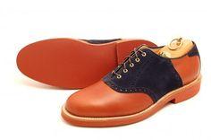 selectism - Alden for Leffot Saddle Shoes